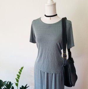 Sharon Young Sportswear 90's Striped Skirt Set